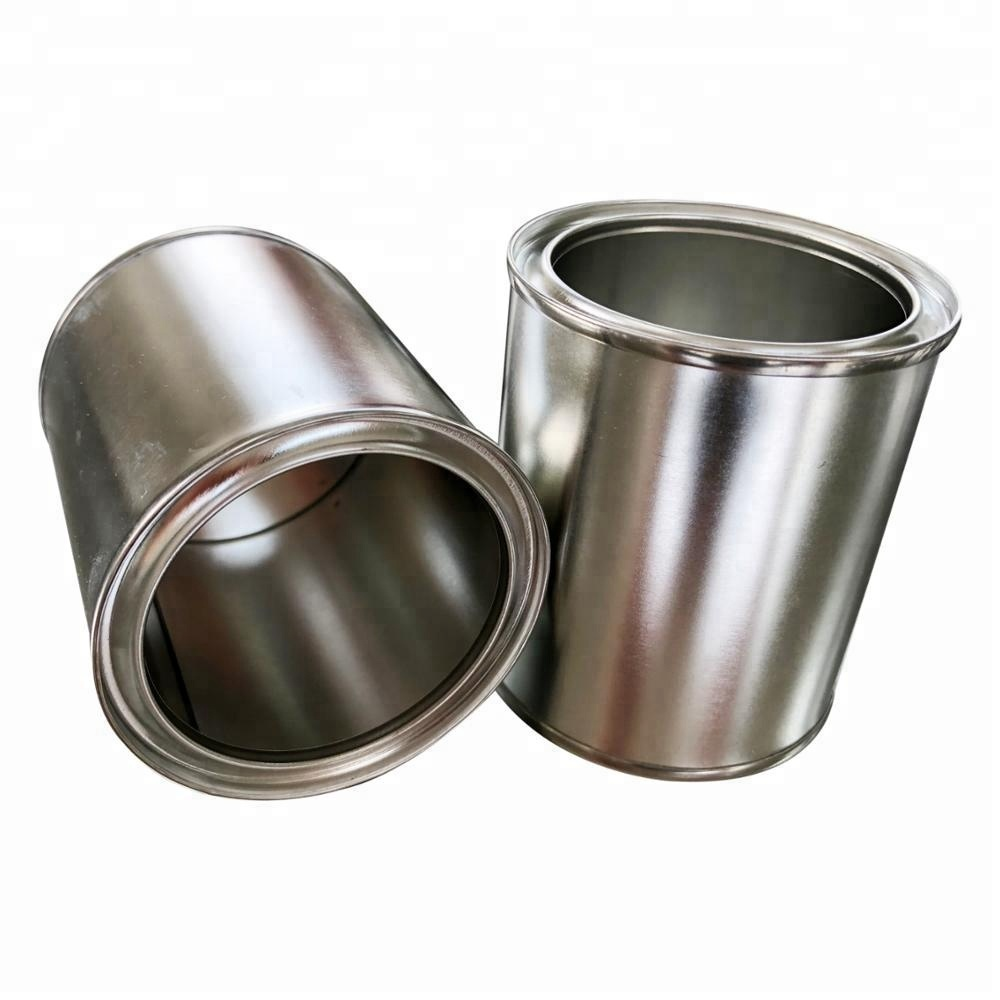 Empty Half Pint Clear Paint Cans With Lids Buy Pint Paint Cans Claer Paint Can Empty Can Product On Alibaba Com