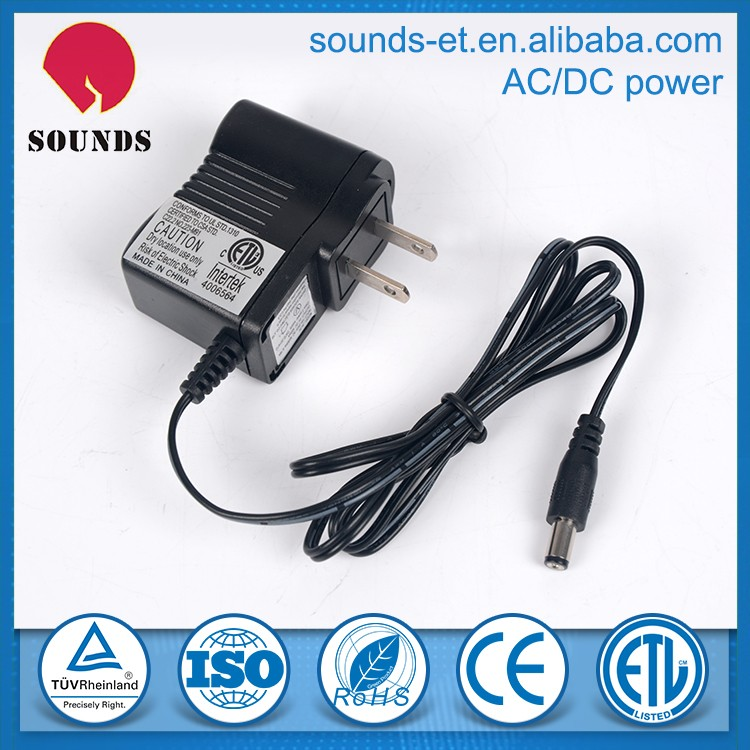 5V Switching Power Adapter 0.5A DC 5.5x2.1mm for led lighting