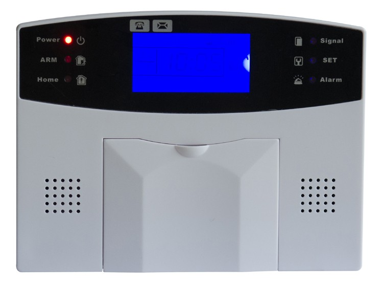 LCD Screen 99 Wireless Zone Home Security GSM Alarm System