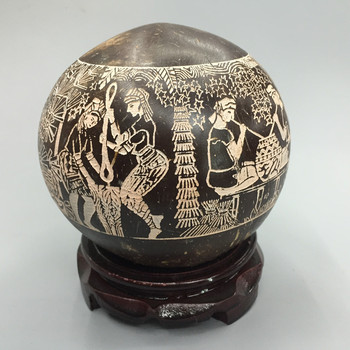 Pure Natural Coconut Shell Craft