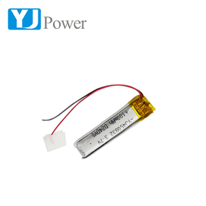Popular IEC62133 lipo battery 450832 100mAh 3.7V Lithium Battery for blue tooth audio with PCB and Connector
