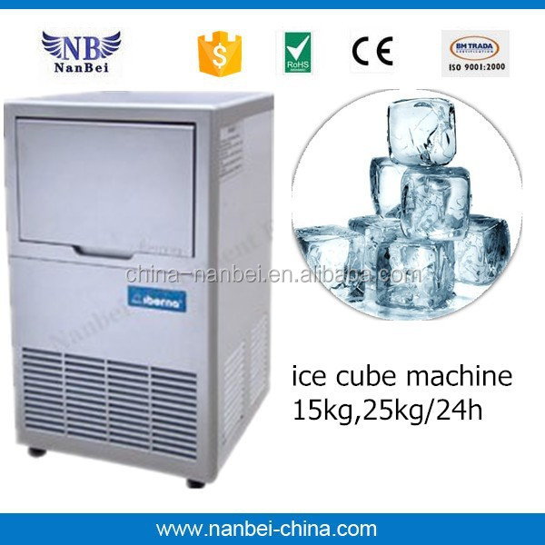CE approved ice machined small ice maker for making ice cube
