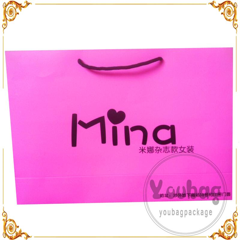 Wholesale high quality promotion single shinny holographic red wine bottle paper bag pattern