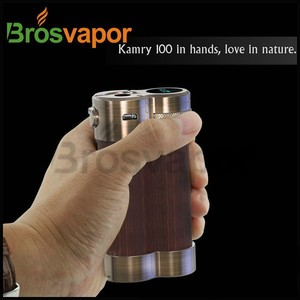 2015 Authentic Kamry 100 wood box mod 100w mechanical mod