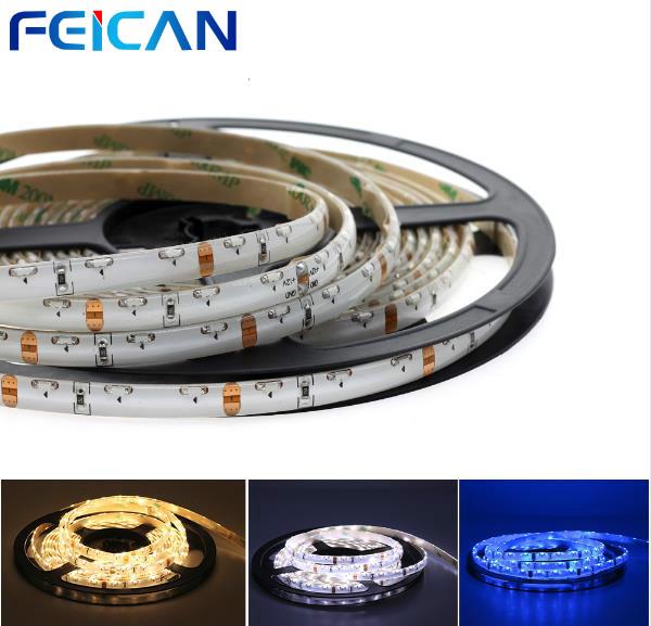 FEICAN DC12V 335 Side Emitting LED Strip 5m 300LEDs For Car Home Decoration White Warm white Blue 5m