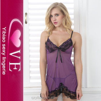 Halter Lace Open Mini Nightwear Lace Babydoll Sexy Nighty Design ... e96920aca