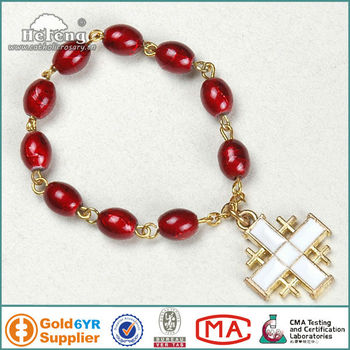 Metal Cross Decoration Glass Finger Rosary Ring - Buy Rosary Ring,Catholic  Rosary Rings,Rosary Ring With Crucifix Product on Alibaba com