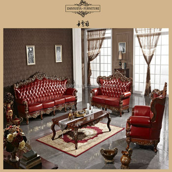 Antique Style Sofa/French Classical Sofa/Living Room Sofa Competitive Price