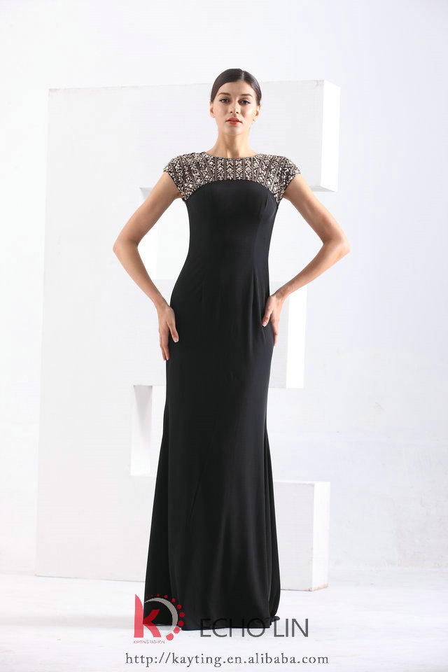 c67f1a2568e 2016 Ladies Long Evening Party Wear Gown Fashion Evening Gown Models Latest  Design Formal Evening Gown