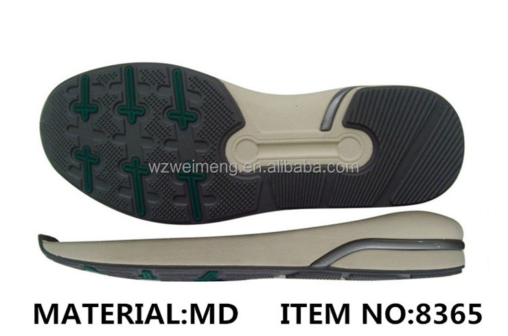 Female Male Non Slip Sole Shoe Eva And Tpr Running Shoes Sole Material