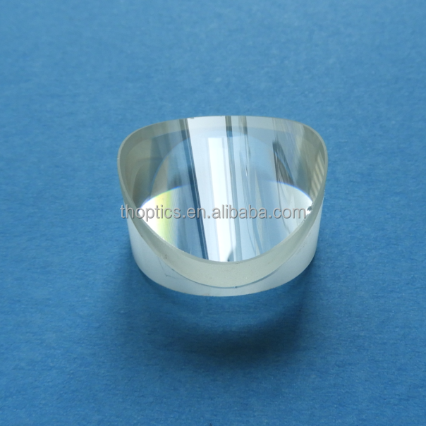 negative Achromatic Doublets Lens with a single layer MgF2 coating