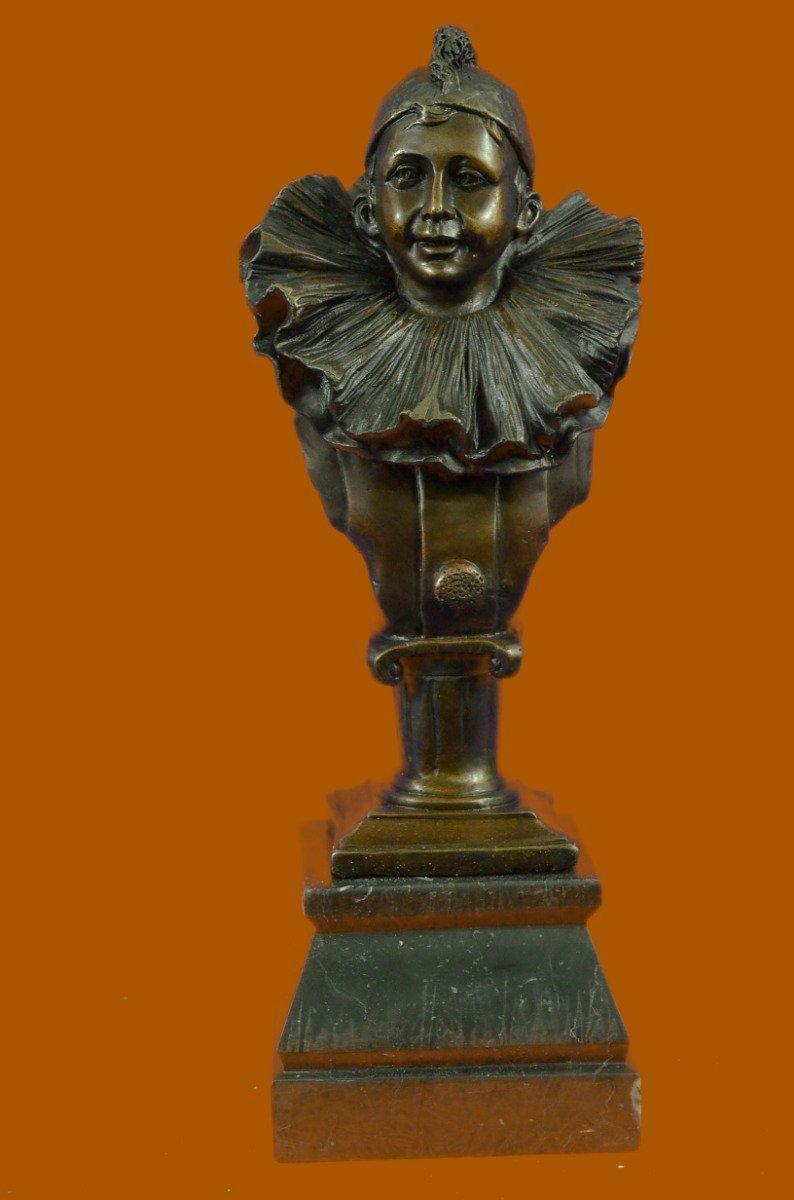 Buy HandmadeEuropean Bronze Sculpture Gold Patina