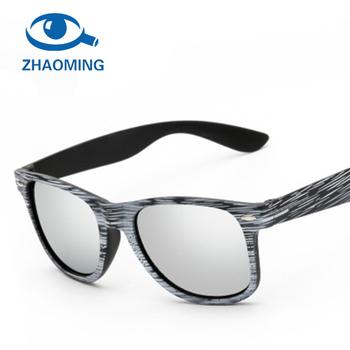 0617374dff8a6 Color Film Sunglasses Vintage Wood Grain Sun Glasses Men Women Rice nail  grain Retro Sunglass Famous