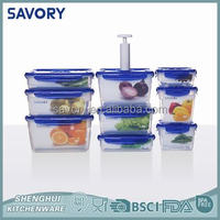 food containers vented tiffin lunch box, plastic food container