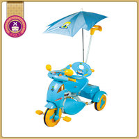 Three Wheeler Non Powered Cheap Kids Tricycle With Canopy