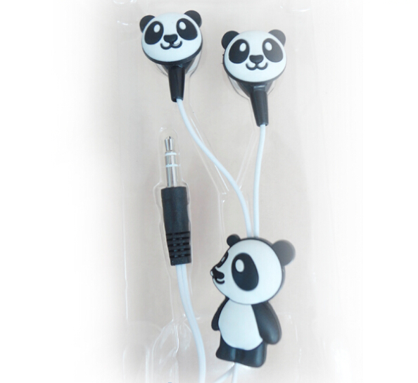 3601341a42ed3f Wired Kids Earphone Panda Ear Headphones Buy Earphones China - Buy ...