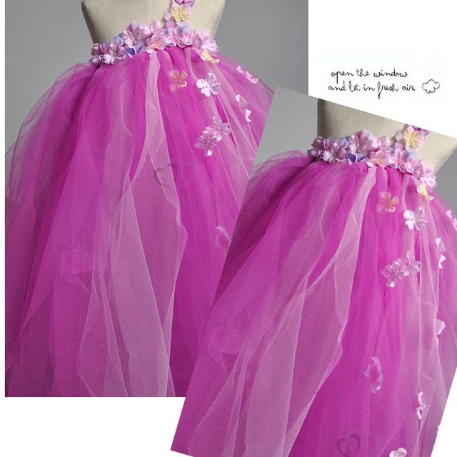 Promoción puffy vestido púrpura, Compras online de puffy ...