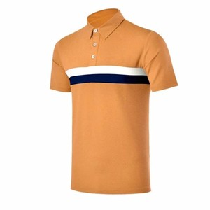 Wholesale Golf Clothing Men Athletic Wear Golf T-shirt