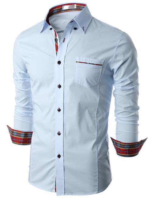 Mens Luxury Dress Shirt Stan Half Sleeve