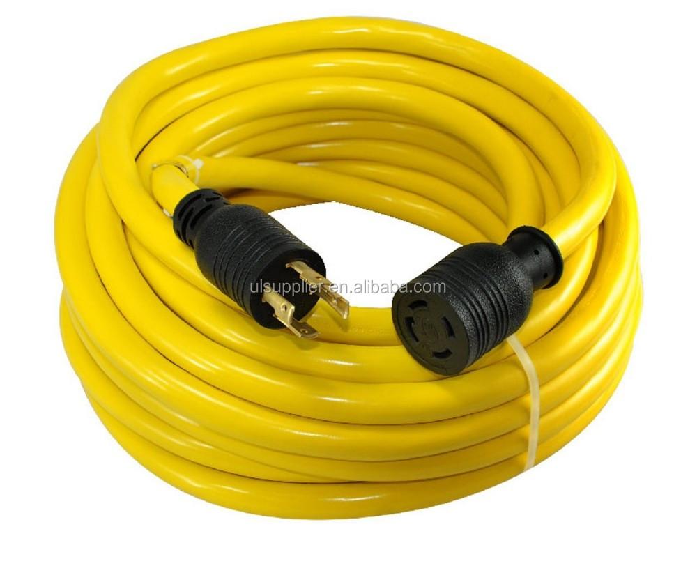 S10346 Nema L14 30 Generator Power Cord 4 Wire 10 Gauge 125 250v Amp Wiring