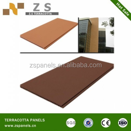 Heat Resistant Terracotta Facade Panel Wall Tile Bricks Tiles Brick Exterior Outdoor Decorative