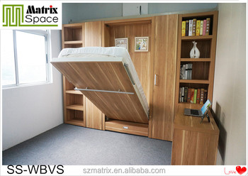 Murphy Wall Bed With Table,Transformable Bed,Folding Kids Beds Part 42