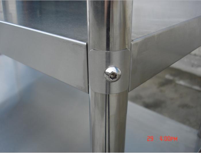 Rvs plank opbergrek commerci le metalen keuken apparatuur opbergrek plank stapelen rekken en - Plank keuken opslag ...