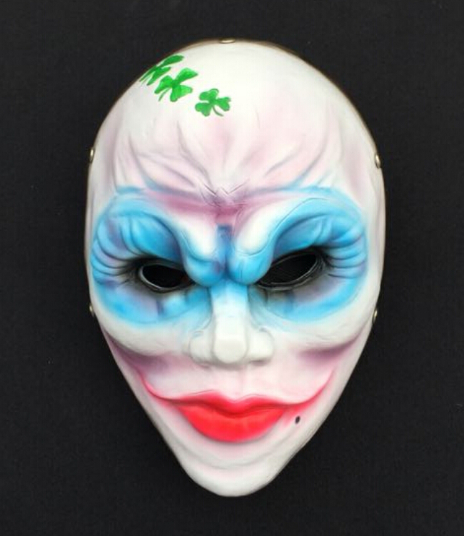Fancy A Payday Www Fancyapayday Co Uk: New Payday The Clover Heist Resin Mask Halloween Fancy