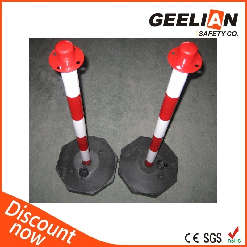 Plastic Crowd Control Barrier Driveway Chain Barrier