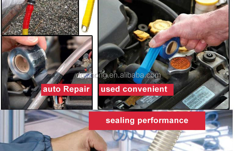 Wire Wrap Leak : Repair product self fusing rubber silicon heating tape