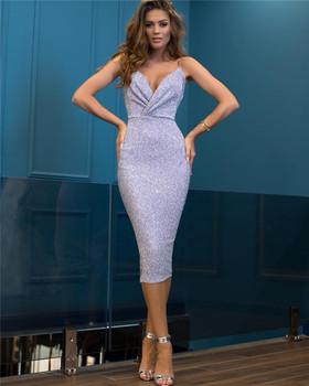 Té De Lavanda Longitud Lentejuelas Sirena Señoras Cóctel Vestidos 2018 último Buy Vestido De Graduaciónvestidos Formalesvestidos De Cóctel Product