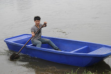 3.2 meters Cheap used small plastic fishing boat for sale