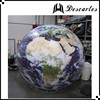 Germany 4m diameter inflatable earth globe planet helium balloon for events decoration