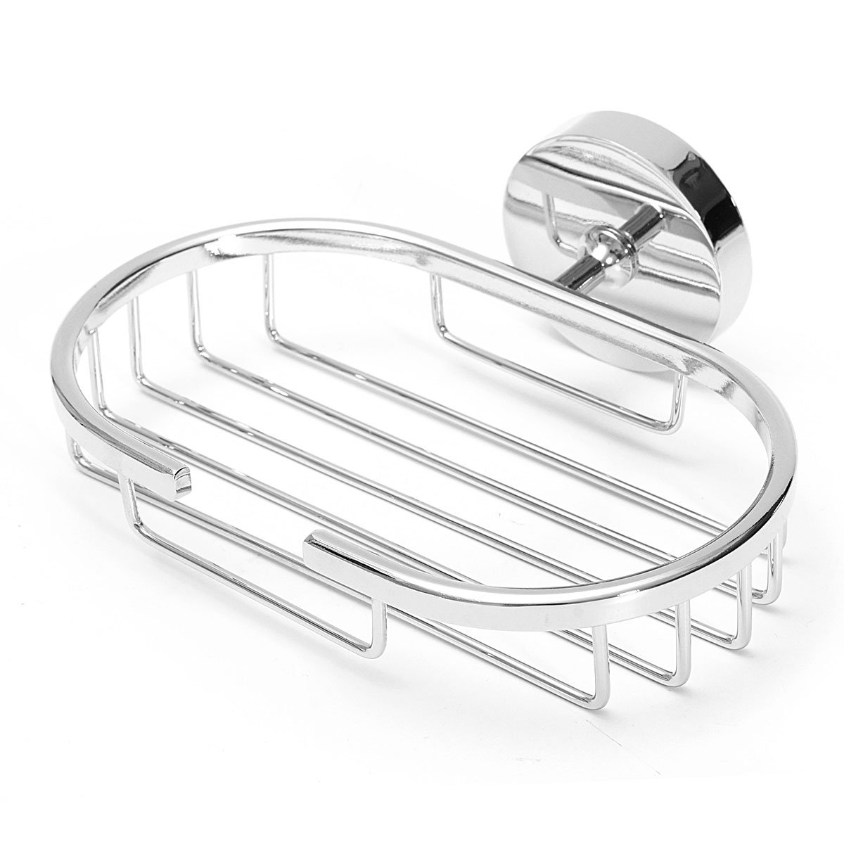 304 Stainless Steel Soap Dishes, Soap Holder, Soap Saver, Rustproof Wall Mounted Soap Dish Shower Soap Basket for Bathroom Lavatory Kitchen