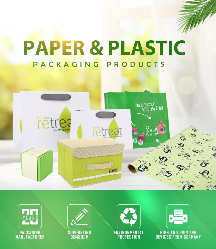 Wrap Großhandel Reine Farbe Design Blume Kunst Papier Verpackung Papier Große Rolle