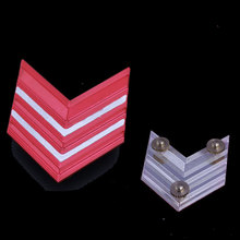 Customized shoulder badge ,paint color ,with screw