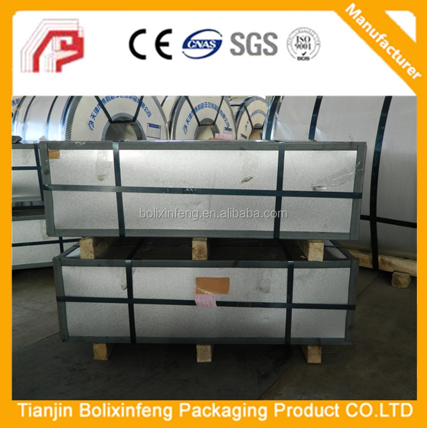Secondary tinplate, great price T2 T3 T4 secondary grade tinplate sheets, misprint tinplate