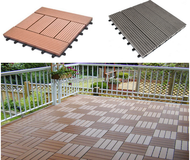 outdoor wpc diy <strong>flooring</strong> for balcony high quality wpc interlocking