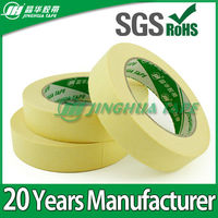 160 Degree Heat Resistant Masking Tape Covers For Car Painting