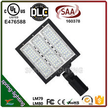 UL CUL DLC SAA listed 100w 150w 200w Natural white 5000K SMD LED shoebox light replacement for street lights and vapor lamps
