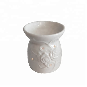 porcelain oil burner tea light candle burner youga aroma oil burner