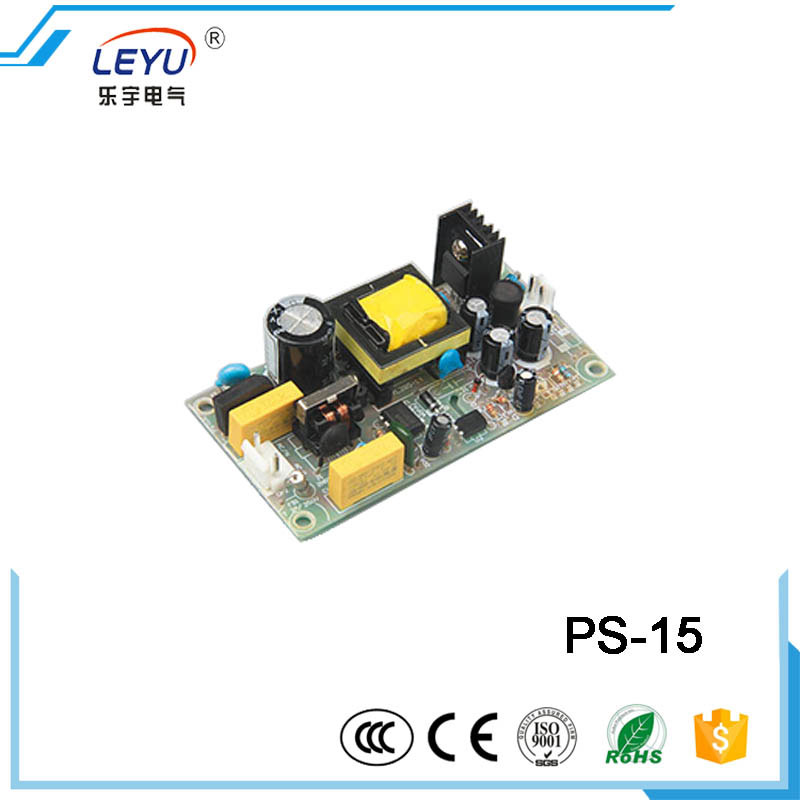 PS-15-5 15W 12V 1.25A Single Output Open Frame Switching Mode Power Supply