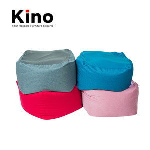 Square bean bag seat cushion bean ball can be refilled, large elastic fabric bean bag chairs