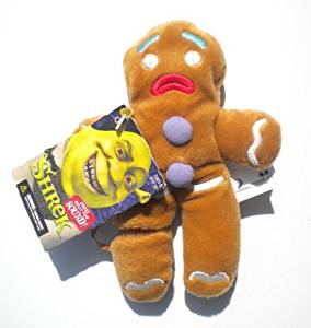 McFarlane Toys Shrek Bean Bag Plush> Talking The Gingerbread Man