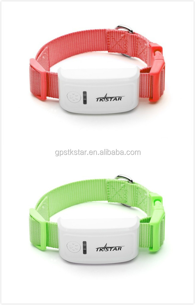 TK Star!!2016 hotselling Mini GPS Tracker/GPS Dog Tracking Collars With Android And IOS APP GPS Tracker Pet