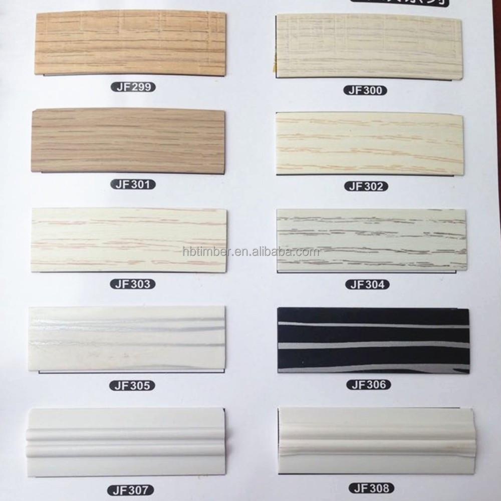 2 mm wengé couleur meubles décoratifs en plastique gaufré grain de ...