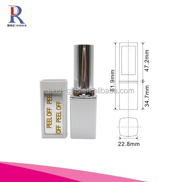 Bling bling rhinestone lipstick with light