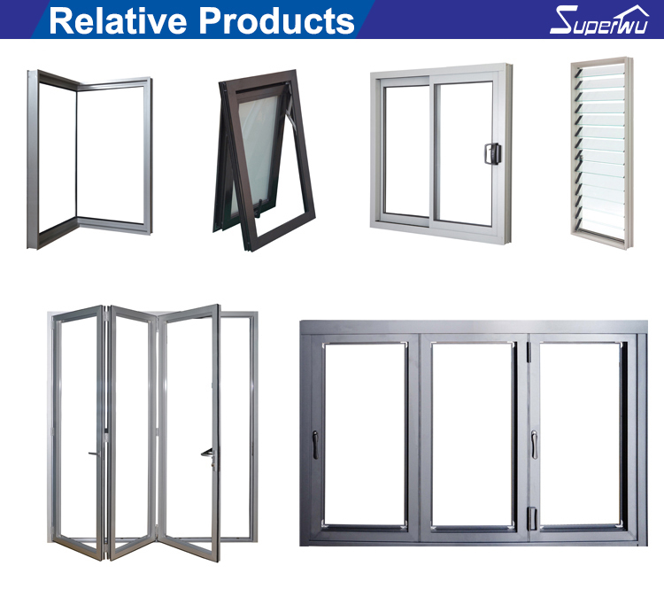 Heating bulletproof fixed window aluminum glass curtain wall