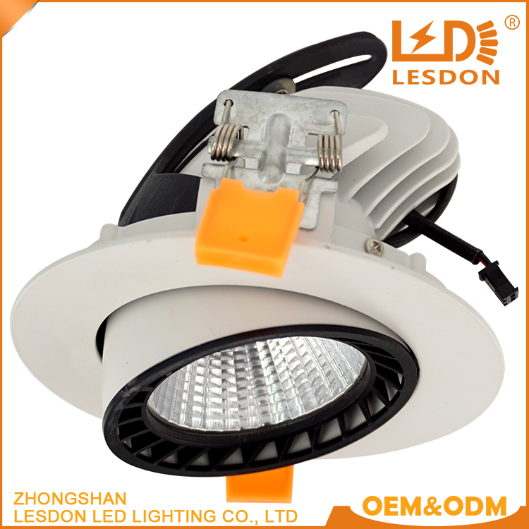 Factory Supply Rotable Gimbal Recessed 30w 40w Cob Led Shop Trunk ...