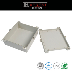 IP65 wall mounted gray plastic electronic device housing
